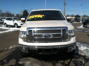 2007 Ford F150 White Lariat